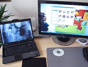 Bildschirme: Jeder Screen mit Stick Touch-fähig. Bild: Flickr/Magiera