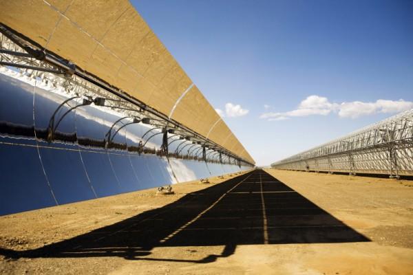 Andasol Solar Power Station in Spanien