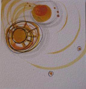 Bild 4: Christi, Untitled3, Gouache und Tinte auf Paper, 2006