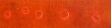 Bild 1: Petra Lemmerz, aus der Serie Entoptik, 1996, 63 x 226 cm