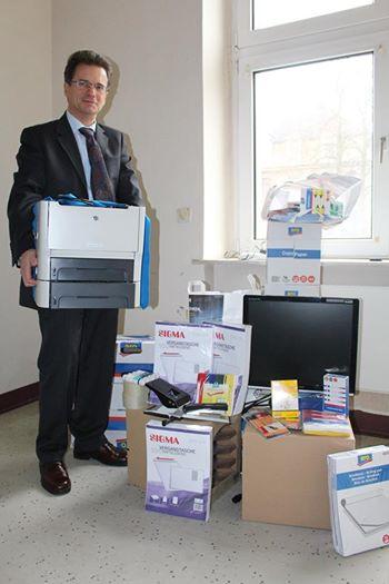 Fast stündlich gehen neue Spenden und Überlassungen ein! Bild: Königreich Deutschland