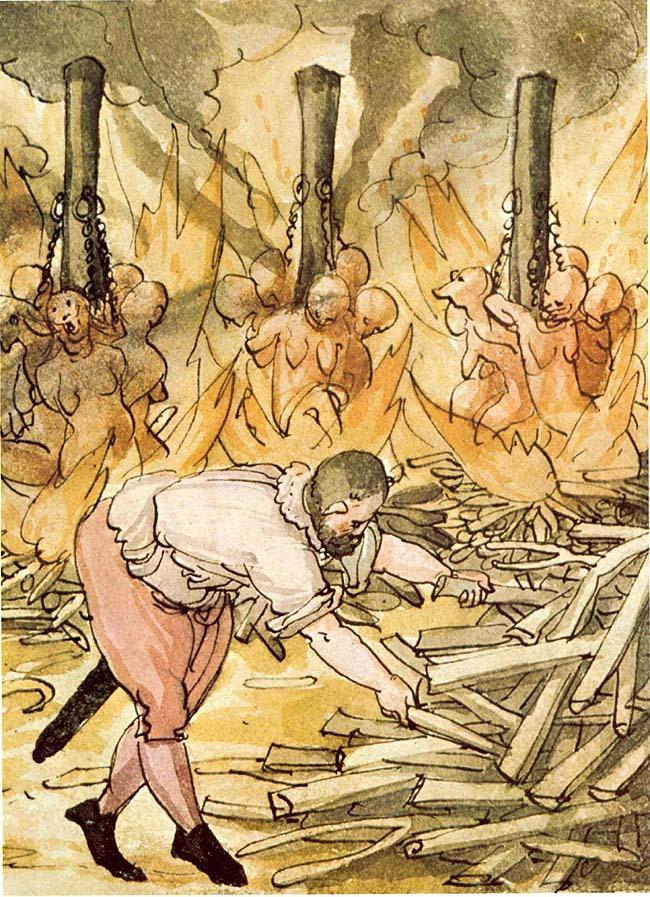 Die Kirche ist berühmt für deren Hexenverbrennungen - Heute werden andere Grupen verfolgt (Symbolbild)