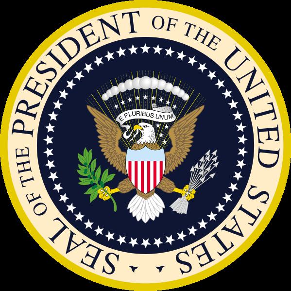 Siegel des Präsidenten der Vereinigten Staaten von Amerika