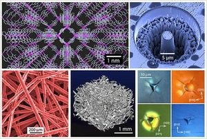 Nanowerkstoffe aus dem Tan-Labor unter dem Elektronenmikroskop. Bild: ox.ac.uk
