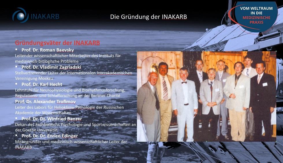 Gründungsväter der INAKARB
