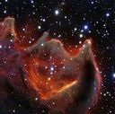 VLT-Aufnahme der kometenartigen Globule CG4.