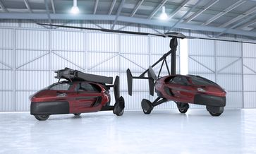 """Die neue PAL-V Liberty wird es ab 2018 zu kaufen geben. Bild: """"obs/PAL-V International B.V."""""""