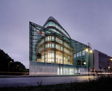 Die CDU-Bundesgeschäftsstelle in Berlin, das Konrad-Adenauer-Haus