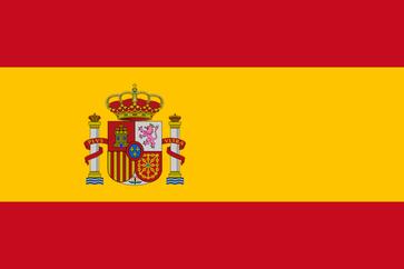 Flagge von Spanien