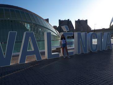 "Alexia während ihres Sprachschulaufenthalts in Spanien. / Bild: ""obs/Experiment e.V./Experiment e.V./privat"""