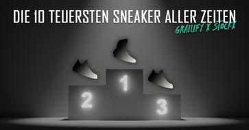 Die 10 teuersten Sneaker aller Zeiten Bild: edquadrat GmbH Fotograf: edquadrat GmbH
