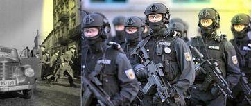 Razzia früher und heute: Wortherkunft kommt vom arabischen und bedeutet Kriegszug, Raubzug oder Angriffsschlacht (Symbolbild)