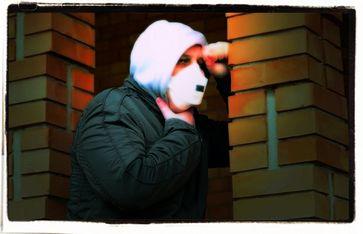 Atemnot, Ersticken, FFP2 Maske (Symbolbild)