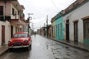 Straßenzug in Havanna, aufgenommen bei einem  Forschungsaufenthalt von Dr. Larissa Borkowski. Quelle: Dr. Larissa Borkowski (idw)