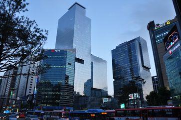 Firmensitz Samsung Town in Seoul