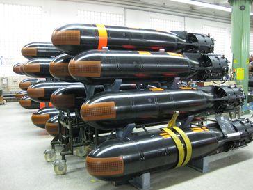 """Die Elektronik der Torpedos DM2 A4 wird auf den aktuellen Stand der Technik gebracht. Zugleich wird auch die Torpedoprüfausstattung erneuert. Bild: """"obs/Presse- und Informationszentrum AIN/(Foto: Bundeswehr)"""""""