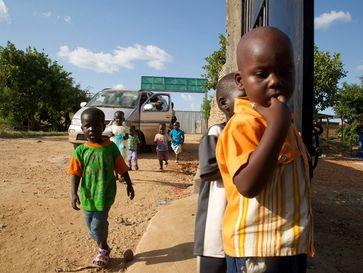 Kinder im Südsudan leiden unter den blutigen Konflikten und der Armut. Bild: George Hakim