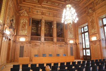 Sitzungssaal des Bundesverwaltungsgerichts