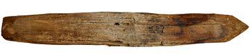 Ein ca. 400 Jahre alter Holznagel: Sind diese wieder im Kommen?