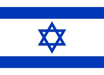 Flagge Staat Israel