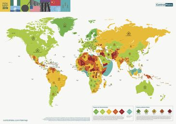 "RiskMap 2019. Bild: ""obs/Control Risks GmbH"""