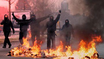 Antifa: Bezahlte Schläger und Krieger gegen Demokratie, Freiheit und Mitmenschlichkeit (Symbolbild)