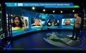 Internationales Kindersozialprogramm von Gazprom Football for Friendship Bild: FOOTBALL FOR FRIENDSHIP Fotograf: FOOTBALL FOR FRIENDSHIP