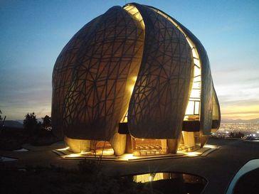 Baha'i Tempel von Süd-Amerika, Santiago, Chile