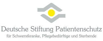 Logo der gemeinnützigen Stiftung Patientenschutz