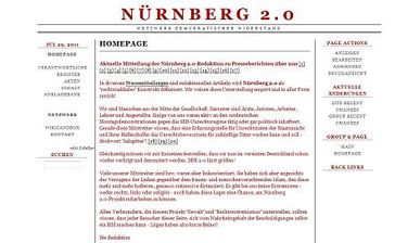 Screenshot Nürnberg 2.0