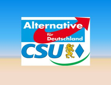 AfD-CSU Logo