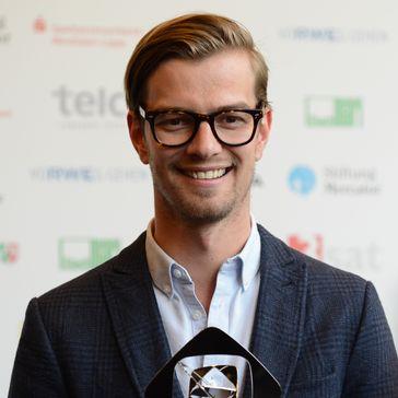 Joko Winterscheidt bei der Verleihung des Grimme-Preises 2014