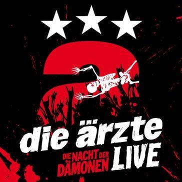 """Cover """"Live - Die Nacht der Dämonen"""""""