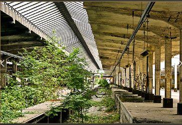 """Ein leider """"normal"""" gewordener Zustand vieler Bahnhöfe (hier Osnabrück Güterbahnhof)"""