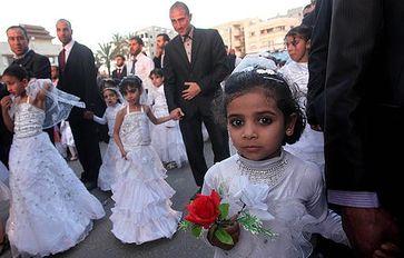 Kinderehe und Kinderheirat (Symbolbild)
