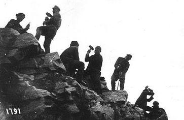 Arbeiter in einem Gulag