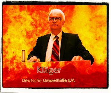 Deutsche Umwelthilfe e.V. in der Kritik: Über 100 Anwälte und nur wenige Mitglieder. Abmahnungen gehören zu ihrem täglichen Geschäft. Jetzt auch die Verhaftung einer Landesregierung.