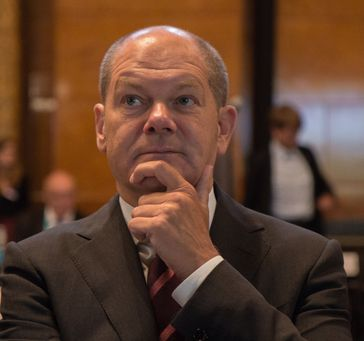 Olaf Scholz, 2017