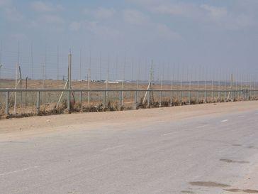 Gazastreifen: Grenzzaun