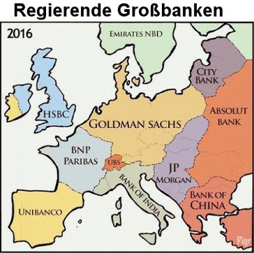 Kritik wird europaweit laut gegen Großbankenchefs in der Politik (Symbolbild)