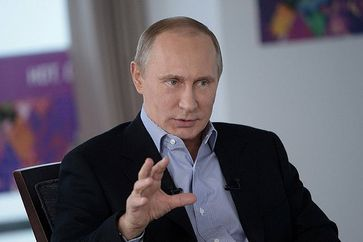 Wladimir Putin Bild:  Global Panorama, on Flickr CC BY-SA 2.0