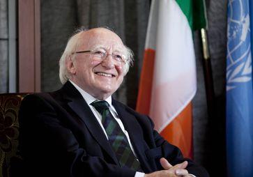 Michael D. Higgins (2015)