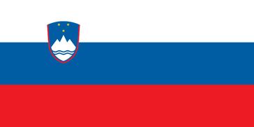 Flagge der Republik Slowenien