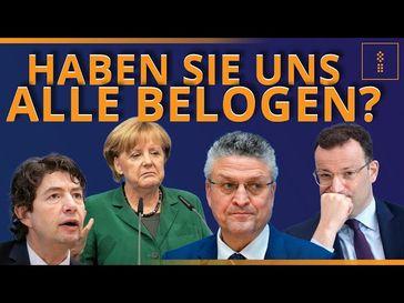 """Bild: SS Video: """"DeStatis belegt BETRUG bei Todesursachen - Merkel, Spahn, Drosten und Wieler ERWISCHT!"""" (https://youtu.be/N0aW89N3UU4) / Eigenes Werk"""
