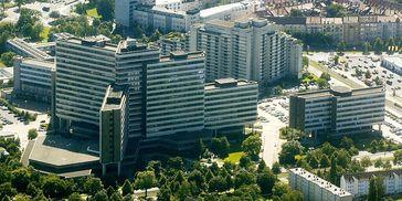 Das Verwaltungszentrum der Bundesagentur für Arbeit in Nürnberg – Sitz der Zentrale, des IT-Systemhauses und des Service-Hauses