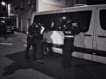 Großeinsatz in Echternacherbrück Bild: Polizei