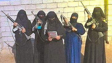 Kriminelle = Daesh = IS = ISIS (Symbolbild)