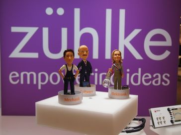 Zühlke-Messestand auf der Messe Embedded World 2014