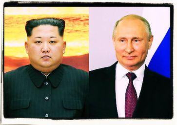 Kim Jong-un und Wladimir Putin (2018)