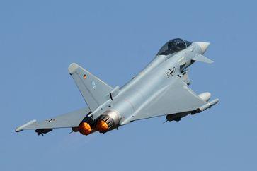 Eurofighter der Bundeswehr beim Start